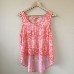 Forever 21 High Low Tank Top